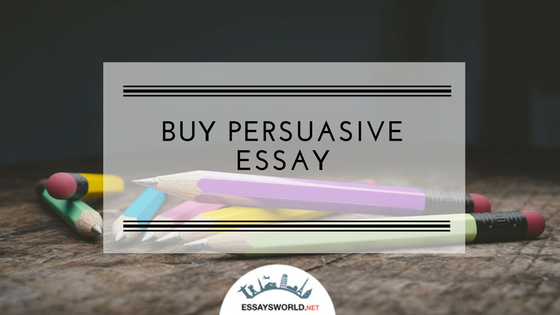 Persuasive Essay Writer Online Will Make the Best Paper for You