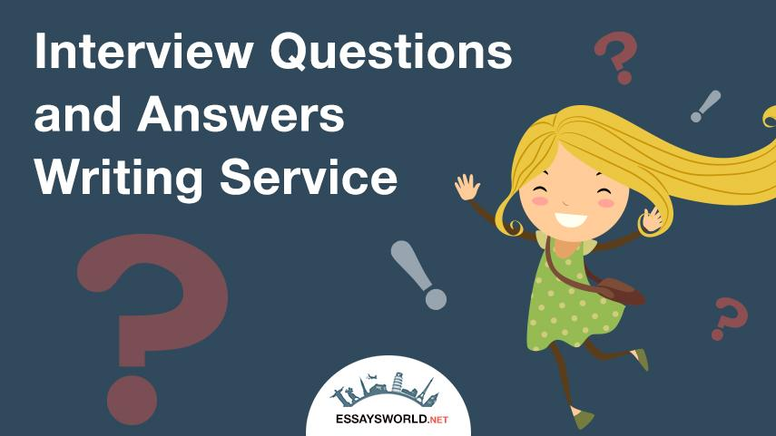 Interview Questions and Answers Writing Service: Delegating Your Tasks