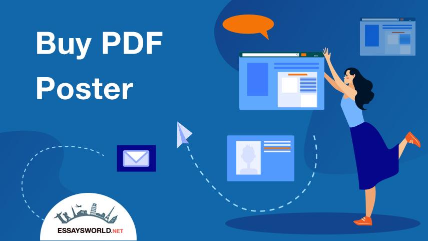 PDF Poster Writing: Reasons to Buy High Quality Writing at Our Website