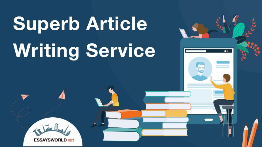Superb Article Writing Service Makes You Stronger