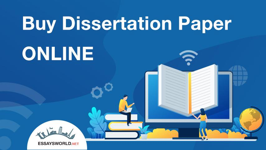 Buy Dissertation Online from Professionals