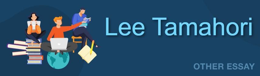 Lee Tamahori Essay