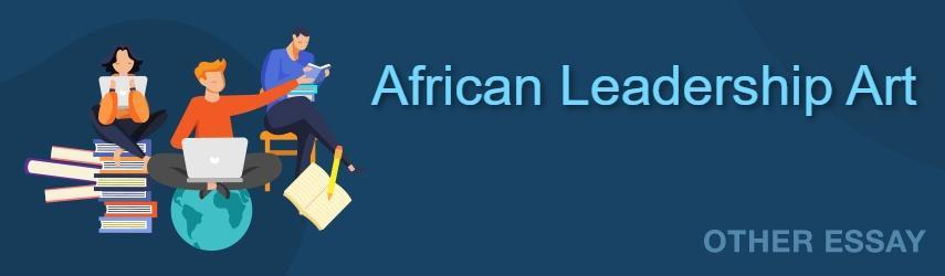 African Art Essay