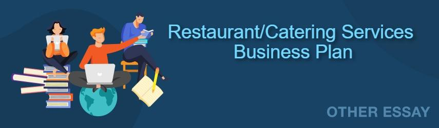 Catering Services Business Plan