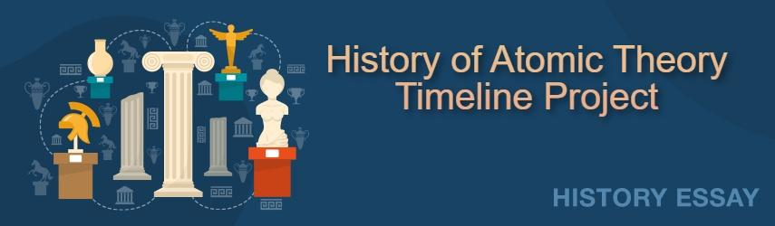 Essay Sample on History of Atomic Theory Timeline Project