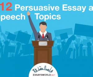 112 College Persuasive Essay Topics